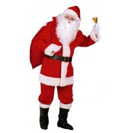 Disfraz Papa Noel Lujo