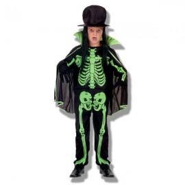 Disfraz Esqueleto Verde