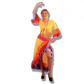 Disfraz de bailarina Cubana