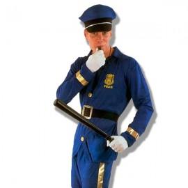 Disfraz policia Azul
