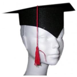 Birrete Estudiante Moqueta (Graduado)