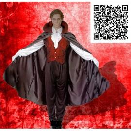 Disfraz de Vampiro gótico