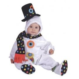 Disfraz Muñeco de Nieve Pelele