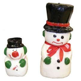 Vela Muñeco de Nieve Pequeño