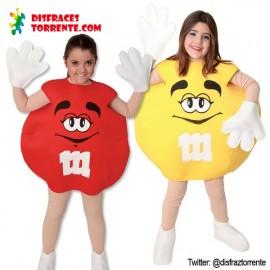 Disfraz de Caramelo M&M (Niño/-a)