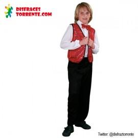 Disfraz de Charleston rojo (niño)