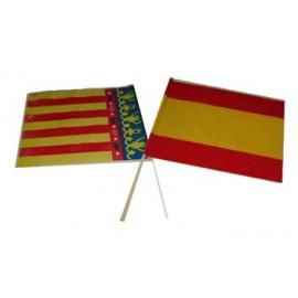 Bandera España con Palo.