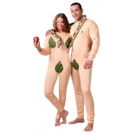 Disfraces de Adán y Eva.