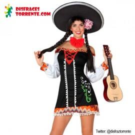 Disfraz Mariachi Mejicana Sexy