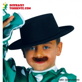 Sombrero Cordobés negro infantil