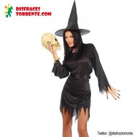 Disfraz Bruja Sexy Halloween Mujer