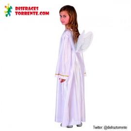 Disfraz de Ángel Blanco Navidad