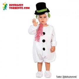 Disfraz Muñeco de Nieve Bebe