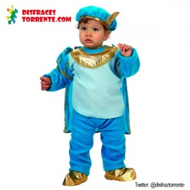 Disfraz Principe azul bebé