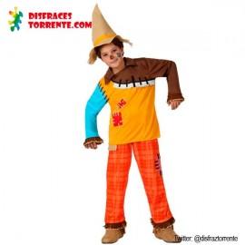Disfraz de Espantapájaros niños