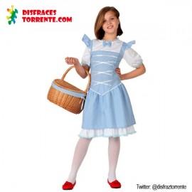 Disfraz Dorotea niña Mago de Oz