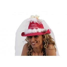Sombrero Novia Cachonda con Tul