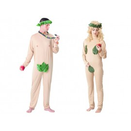 Disfraces de Adán y Eva (Pareja)