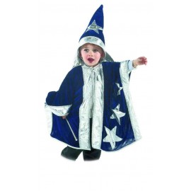 Disfraz de Mago Azul Bebé.