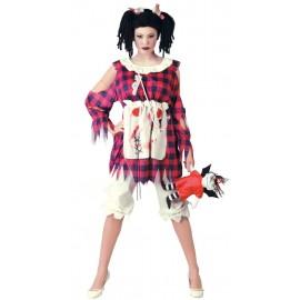 Disfraz de Muñeca de Trapo Adulto