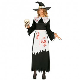 Disfraz Halloween bruja de salem