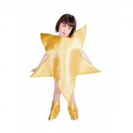 Disfraz Estrella de Navidad Niña