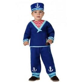 Disfraz de Marinero Azul Bebe