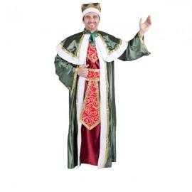 Disfraz vestido Rey Gaspar Navidad