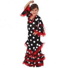 Disfraz de Sevillana Negro