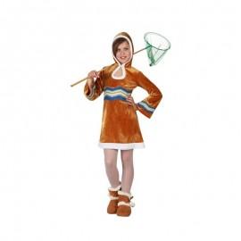 Disfraz de Esquimal para Niña.
