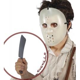 Máscara de Jason con Cuchillo