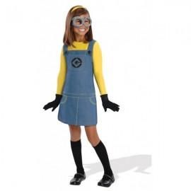 Disfraz de Minion Dave Gru mi villano favorito para niña
