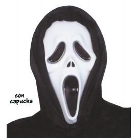 Mascara Scream Plastico con Capucha
