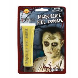 Maquillaje Piel de Zombie