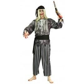 Disfraz de Pirata Fantasma Adulto