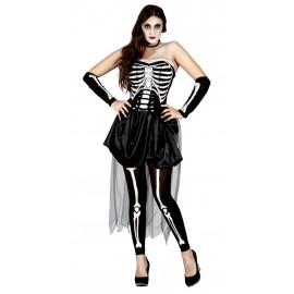 Disfraz de Esqueleto para Mujer