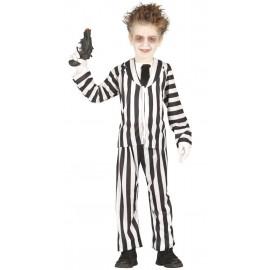 Disfraz de Fantasma Loco para Niños
