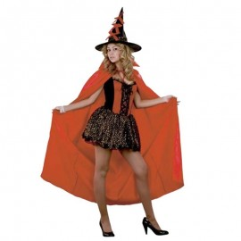 Disfraz de Bruja con Capa Roja
