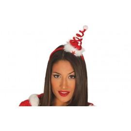 Diadema Sombrero Arbol Navidad con Luz