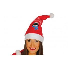 Gorro de Papa Noel Feliz Navidad
