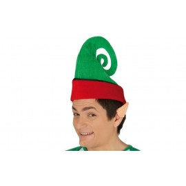 Gorro o Sombrero de Elfo en Color Verde