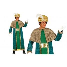 Disfraz de Rey Mago Baltasar para Adulto