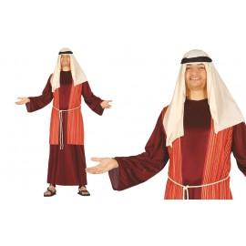 Disfraz de San Jose Pastor en Color Rojo
