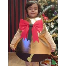 Disfraz de Campana de Navidad