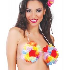 Sujetador Flores Hawaiana.