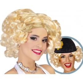 Peluca Marilyn Rubia