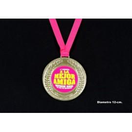 Medalla mejor amiga