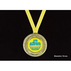 Medalla 18 años