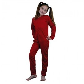 Maillot Mono Body de Punto en Color Rojo